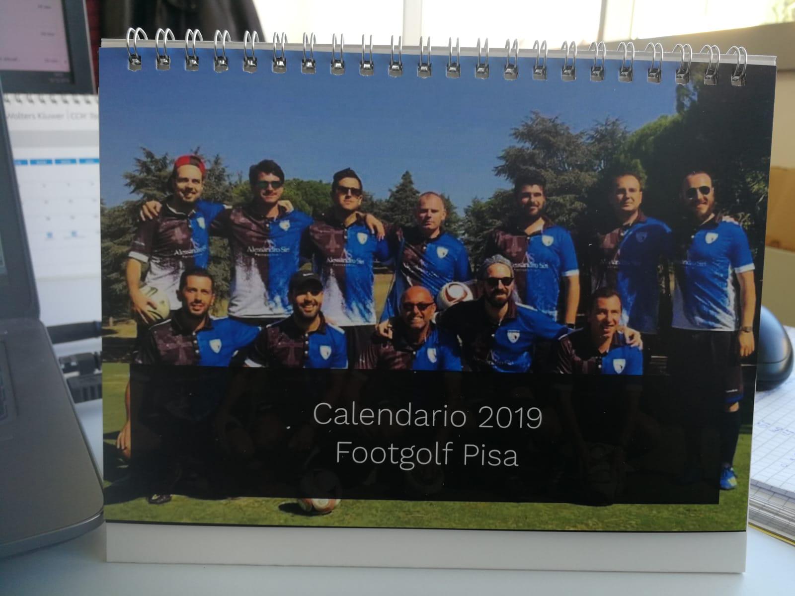 Pisa Calendario.Calendario 2019 Footgolf Pisa Footgolf Pisa